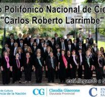 El Coro Polifónico Nacional de Ciegos se presenta en Villa Eloísa, Montes de Oca y María Susana