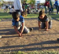 Montes de Oca desarrolla la etapa local del Torneo Provincial de Bolitas