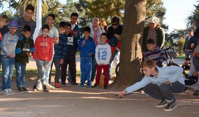 """San Martin de las Escobas ya tiene a sus representantes locales dentro del """"Torneo de Bolitas"""""""