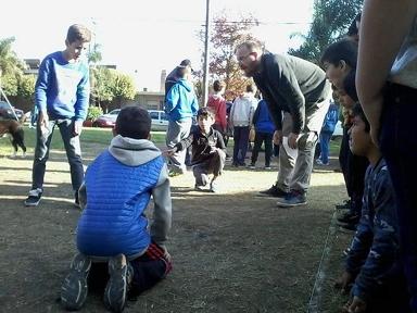"""Oliveros: La fase inicial del """"Torneo de Bolitas"""" fue un éxito"""