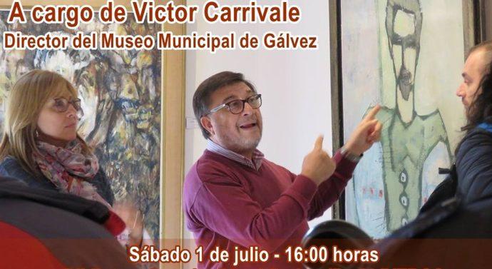 """El Prof. Victor Carrivale inicia un ciclo de charlas en el marco del programa """"Forma y Color"""""""