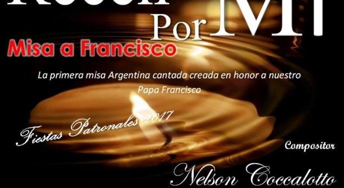 Llega a Centeno la primera Misa dedicada al Papa Francisco