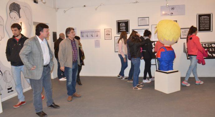 """El Trébol: Se inauguró en el Museo la muestra """"Mundo historieta: Mafalda"""""""