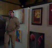 Magistral charla del Prof. Victor Carrivale en la Biblioteca Popular de Oliveros