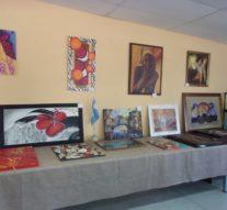 La Muestra «Forma y Color» se exhibe en Montes de Oca