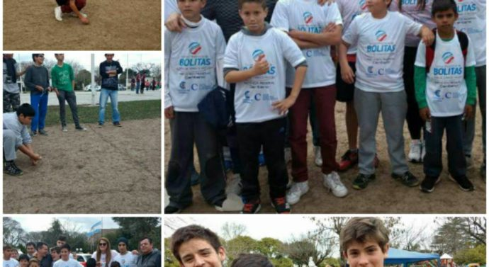 "En Centeno se disputó la etapa regional del ""Torneo Provincial de Bolitas"""