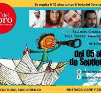 El Ente Cultural Santafesino presente en la 10° edición de la Feria del Libro de San Lorenzo
