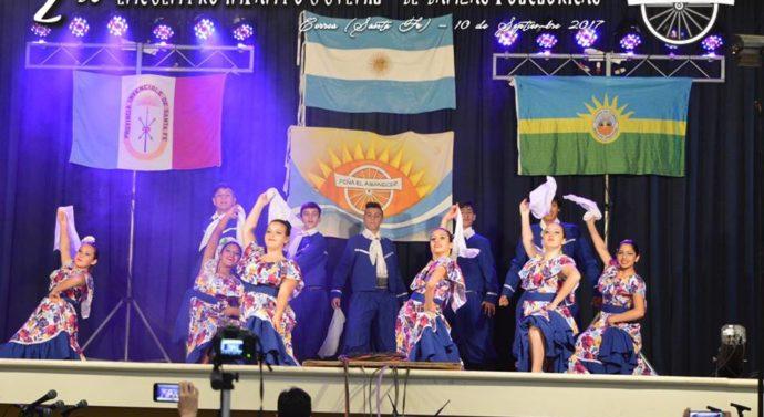 Con total éxito se desarrollo el «2° Encuentro Infanto-Juvenil de Danzas Folklóricas» en Correa
