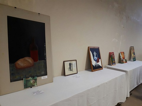"""Peña """"El Amanecer"""" de Correa se pintó de """"Formas y Colores"""""""