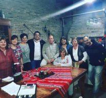 Carrizales recibió a referentes culturales de la Usina I (sur)