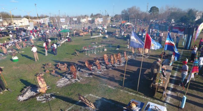 El Trébol: Una multitud disfrutó de un sábado con tradiciones argentinas