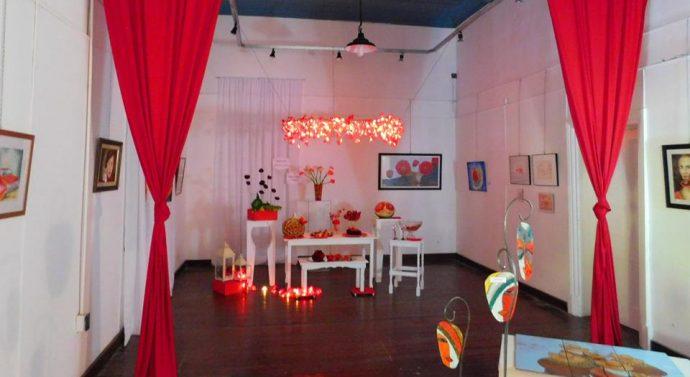 """En San Jorge el """"Rojo"""" se hizo presente en la tradicional Muestra Interdisciplinaria"""