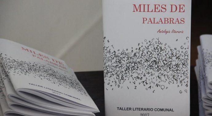 """María Susana: Se presentó la Antología """"Miles de Palabras"""" del Taller literario comunal"""