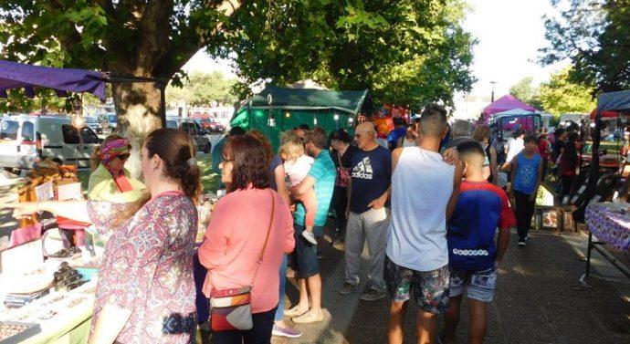 San Jorge vivió su ya tradicional Feria Navideña