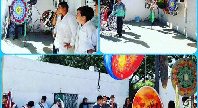 "En Pueblo Andino se exponen las ""Mandalas Santafesinas"""
