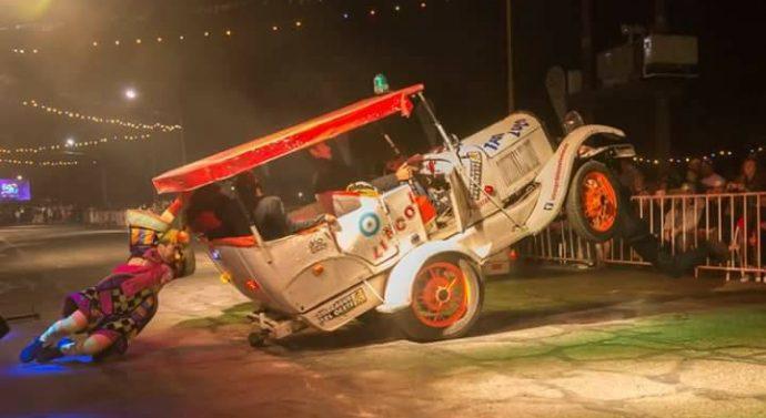 """El  Trébol: """"La Troupe de los Autos Locos"""", uno de los atractivos del Carnaval 2018"""