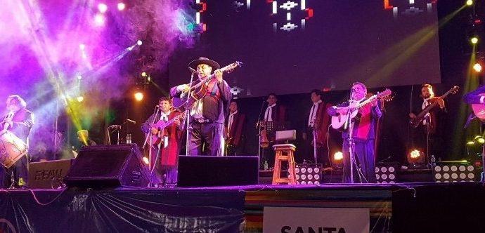 El Chaqueño brilló en Gaboto ante más de dos mil personas