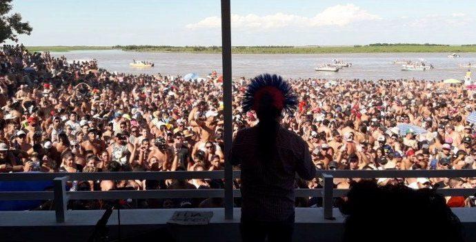 Monje prepara una nueva fiesta en el balneario La Boca