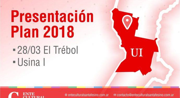 En la ciudad de El Trébol se presenta el «Plan 2018» del Ente Cultural Santafesino