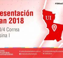 """En Peña """"El Amanecer"""" de Correa se presenta el """"Plan 2018"""" del Ente Cultural Santafesino"""