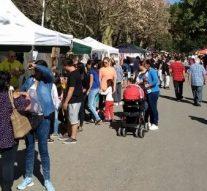 Miles de personas disfrutaron de los artesanos y espectáculos en Gaboto