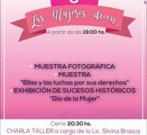 Actividades por el «Día Internacional de la Mujer» en Tortugas