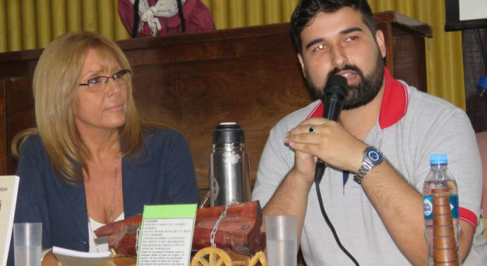 Oliveros disfrutó de la presentación del libro «Ricardo Visconti Vallejos la leyenda a Villa Guillermina»