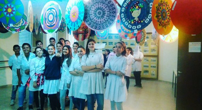 La comunidad de Díaz disfruta de las «Mandalas Santafesinas»