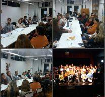 En la ciudad de Totoras se desarrolló la reunión mensual de la Usina I (Sur)