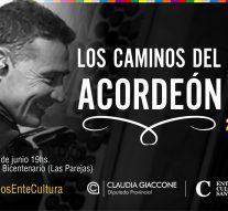"""""""Los Caminos del Acordeón 2"""" llegan a Las Parejas junto a Tito Pennesi"""