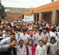 """""""Peña El Amanecer"""" se suma al proyecto educativo de la Escuela Angelita Agüero N° 1290"""
