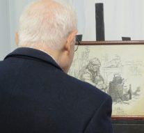 """En la ciudad de Sastre se inauguró la muestra """"Juan Arancio, paisaje y corazón de Santa Fe"""""""