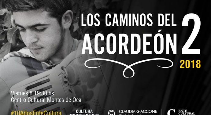 """""""Los Caminos del Acordeón 2"""" llegan a Montes de Oca"""