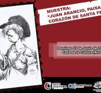 """""""Juan Arancio, paisaje y corazón de Santa Fe"""" llega a San Jorge"""