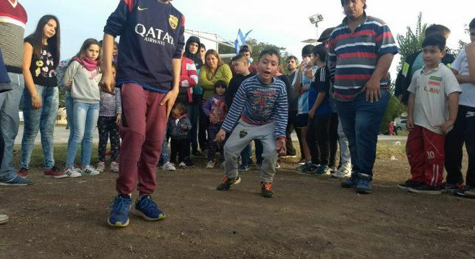 """En Monje y Díaz se realizaron las instancias locales del """"2° Torneo Provincial de Bolitas"""""""