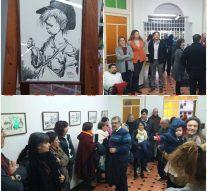 San Jorge recibió la Muestra de «Juan Arancio» en una noche de integración cultural