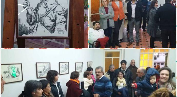 """San Jorge recibió la Muestra de """"Juan Arancio"""" en una noche de integración cultural"""