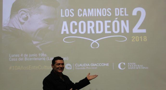 «Los Caminos del Acordeón 2» llegaron a la ciudad de Roberto «Tito» Pennesi