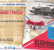 """Este viernes 22: Presentación de la Revista """"Caminos y Pueblos"""" en Tortugas"""