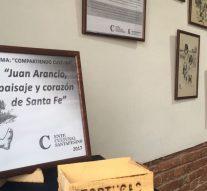 """La Muestra """"Juan Arancio, paisaje y corazón de Santa Fe"""" ya se disfruta en Tortugas"""