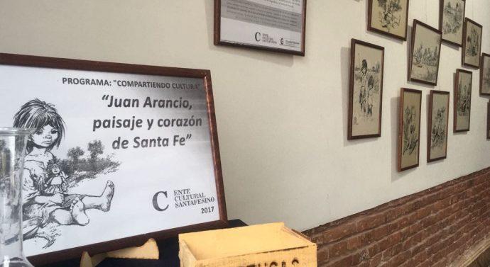 La Muestra «Juan Arancio, paisaje y corazón de Santa Fe» ya se disfruta en Tortugas