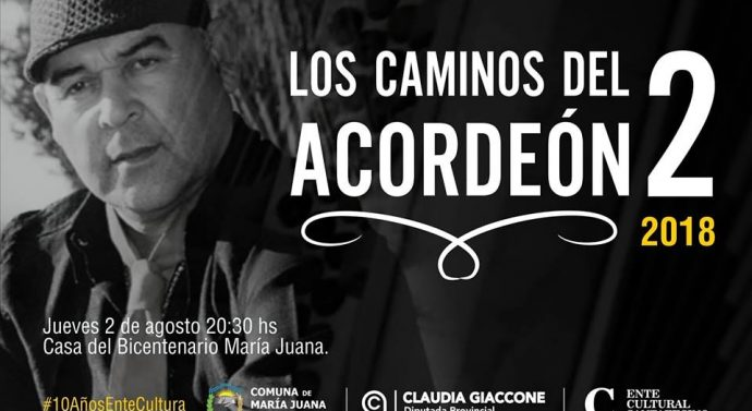 """""""Los Caminos del Acordeón 2"""" llegan a María Juana"""