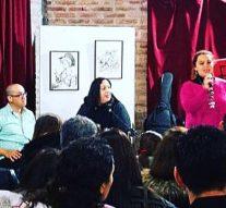 La Muestra de «Juan Arancio» formó parte de una gran «Velada Cultural» en Andino