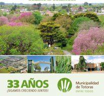 Totoras celebrará su aniversario número 33 de ciudad