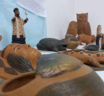 La ciudad de Totoras disfruta de la Muestra «Arte Aborigen» de Néstor Lanche