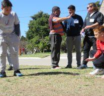 Montes de Oca fue sede de la etapa regional del «Torneo Provincial de Bolitas»