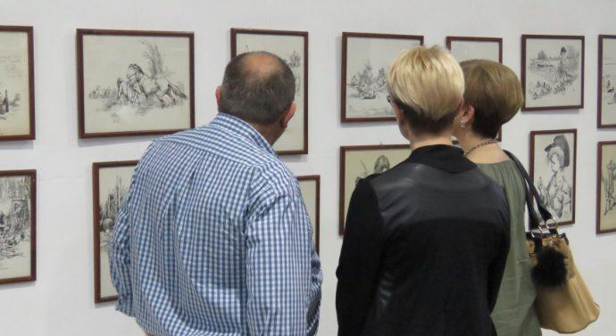La Muestra de Juan Arancio, paisaje y corazón de Santa Fe» se inauguró en Correa