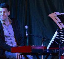 El pianista Bruno Orgaz deslumbró en Bustinza