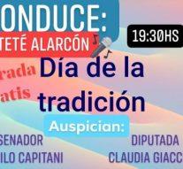 Monje celebrará el Día de la Tradición con shows en vivo y artesanos