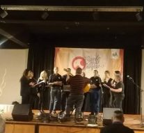El Coro Polifónico Municipal de El Trébol viajó a Mina Clavero